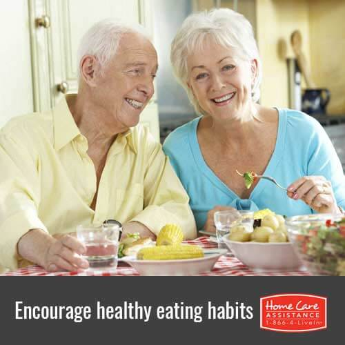 Tips on Encouraging Healthy Eating Habits for Seniors with Dementia