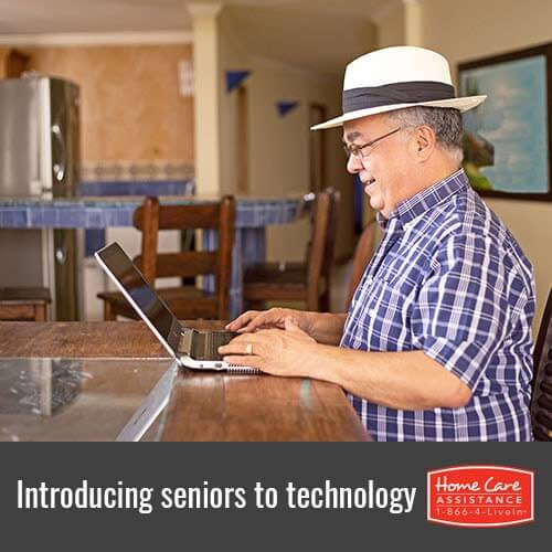 Opening a Seniors Mind to New Technology in Oakville, ON