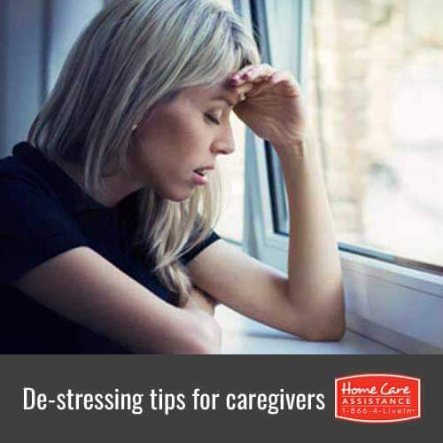 Helpful De-Stressing Tips for Family Caregivers in Oakville, ON