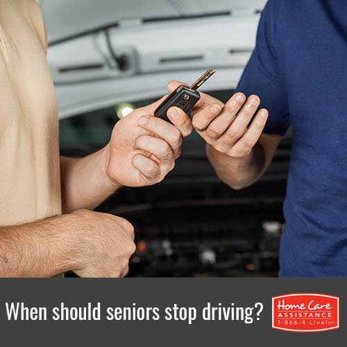 Knowing When It's Time to Take Your Loved One's Car Keys Away in Oakville, ON