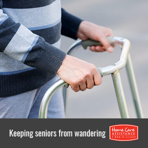 3 Useful Ways to Prevent Seniors with Dementia from Wandering in Oakville, ON