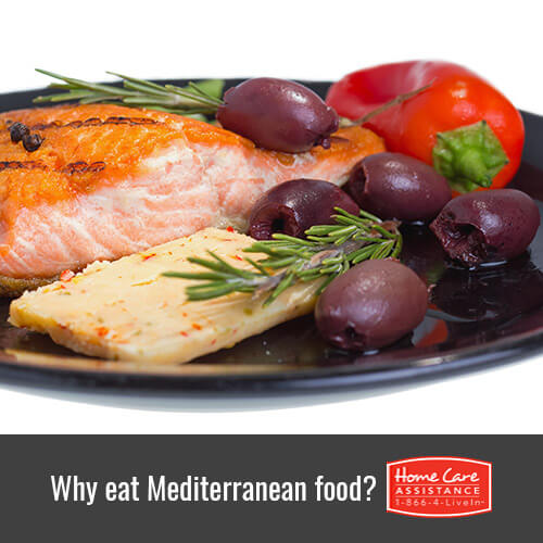 Why Mediterranean Food Is Healthy for Seniors in Oakville, ON