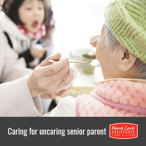 How to Care for a Senior Parent Who Wasn't Caring Toward You in Oakville, ON