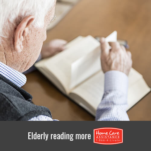 Why the Elderly Should Read More in Oakville, ON