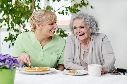 Convincing Older Adults with Alzheimer's to Eat Enough in Oakville, ON